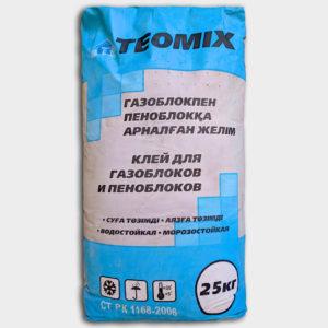 Клей для газоблоков и пеноблоков TEOMIX